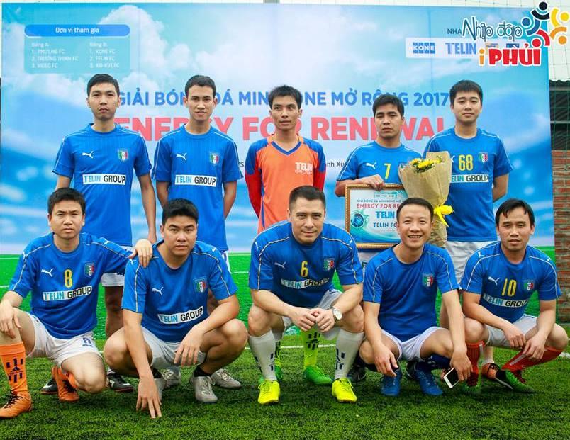 TELIN FC THAM DỰ GIẢI BÓNG ĐÁ KONE MINI MỞ RỘNG
