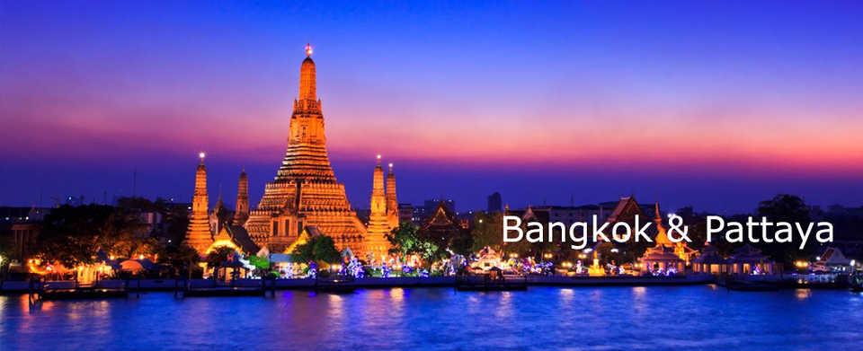 BANGKOK- PATTAYA- CHAO PRAYA 2017