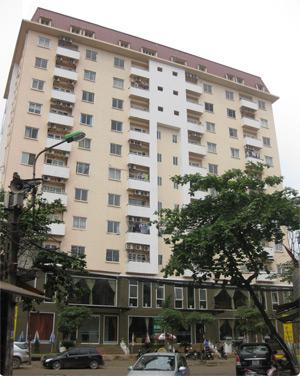 Dự án 45 Nguyễn Sơn: Chung cư và nhà chia lô